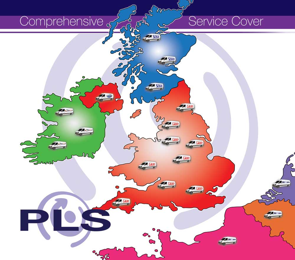 PLS service map