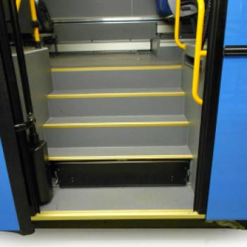 City Bus Step Well Lift
