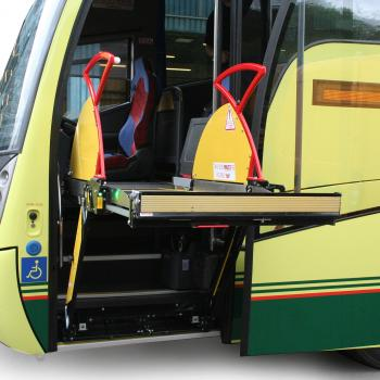 GNX-Access™ Coach Front Entrance Lift from PLS
