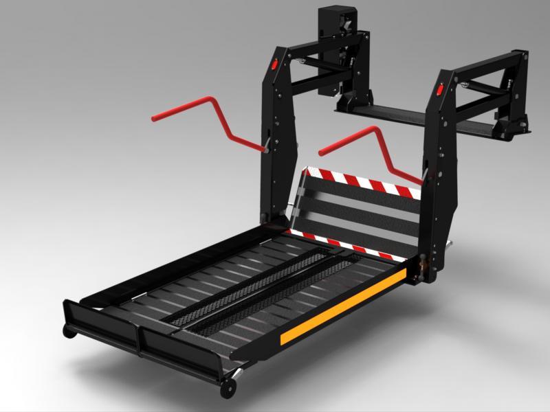 Inboard Stretcher Lift